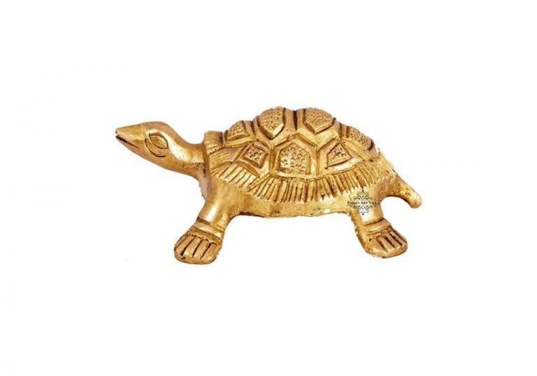 Amazon India : Indian Art Villa Brass Hammered Vastu Fengshui Tortoise Statue at Rs.399