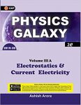 Amazon India : Physics Galaxy Vol 3A-Electrostatics & Current Electricity Paperback at Rs.289