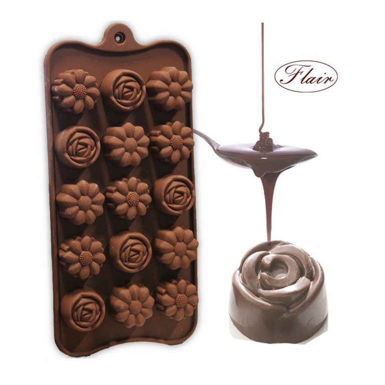 Amazon India : Hua You Flair Food Grade Silicone Flower Shape Chocolate Mould / Ice / Sweet Mould at Rs.217
