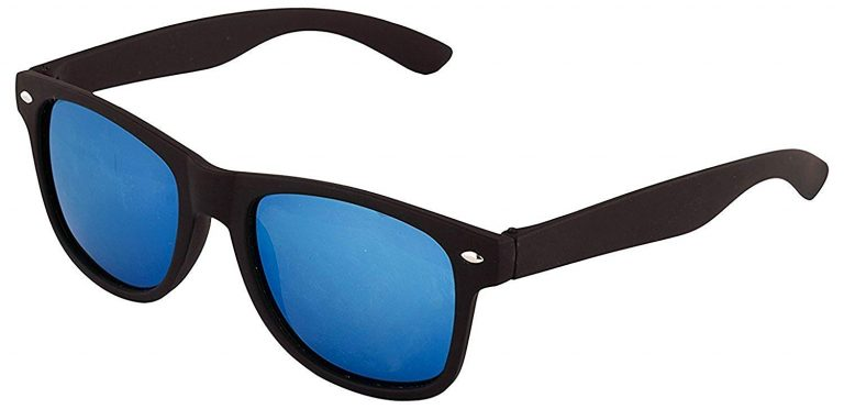 Amazon India : Royal Son UV Protected Wayfarer Unisex Sunglasses (Blue Lens) at Rs.249
