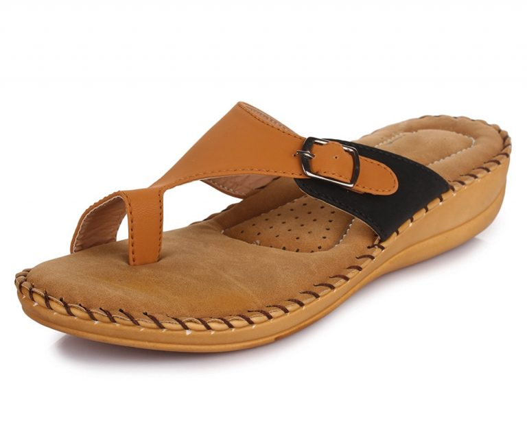 Amazon India : TRASE Women's Synthetic Ortho Slippers with Doctor Sole at Rs.599