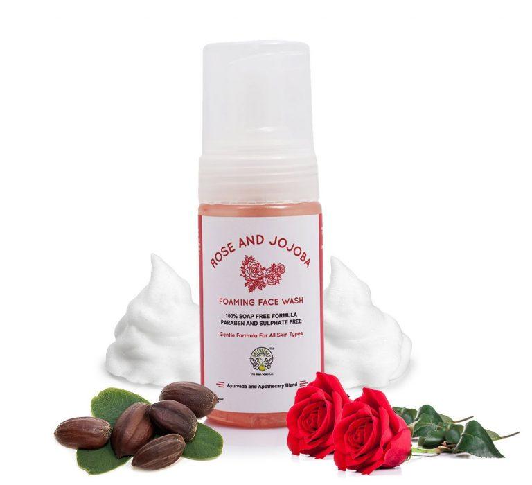 Amazon India : Greenberry Organics Rose and Jojoba Oil Foaming Face Wash, 100ml at Rs.295