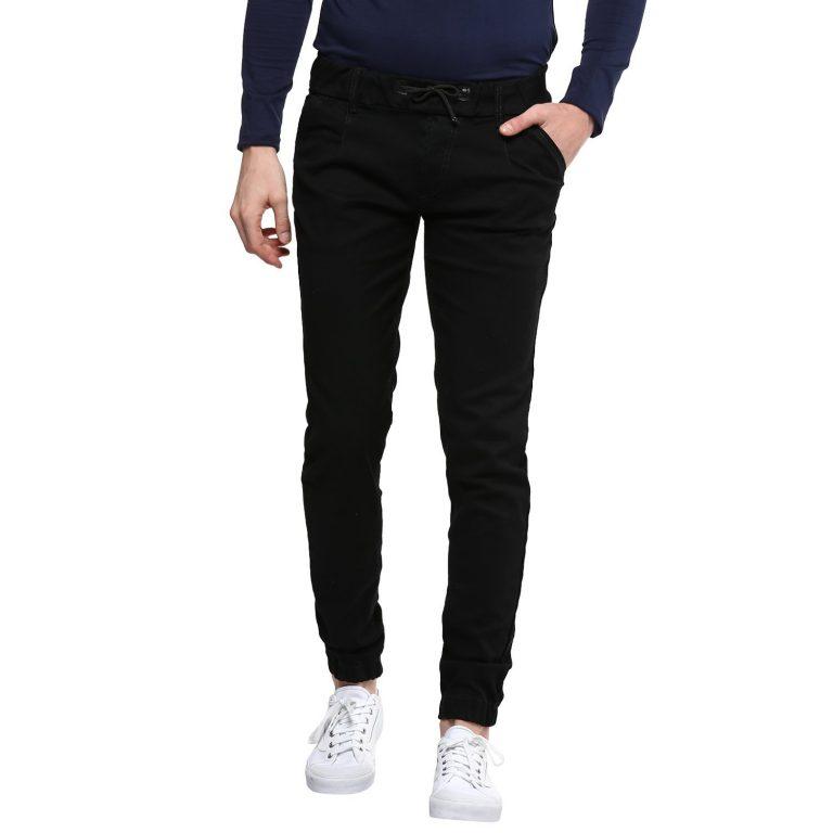 Amazon India : Urbano Fashion Men's Black Slim Fit Stretch Jogger Jeans at Rs.740
