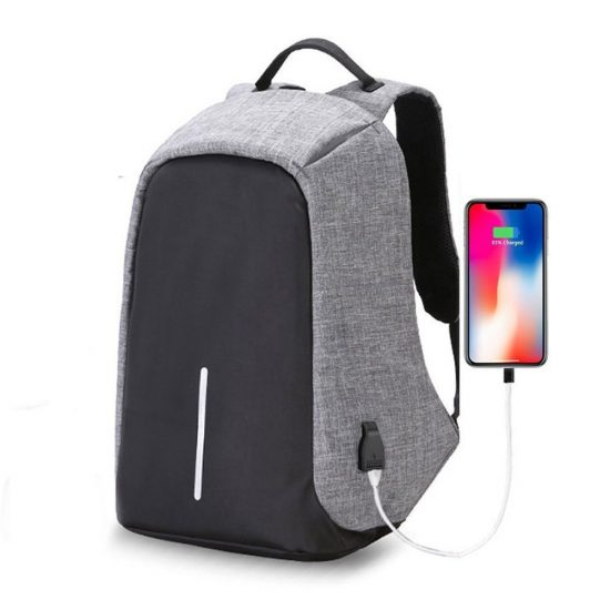 Amazon India : Suntop TechBob AntiTheft USB 13 Litres Grey Laptop Backpack at Rs.1225