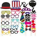 Amazon India : SYGA Party Props Props Craft Party Item (Set of 40) at Rs.189