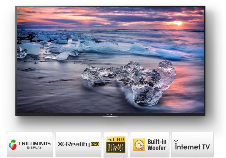 Amazon India : Sony 108cm (43 inches) Full HD LED Smart TV at Rs.47990