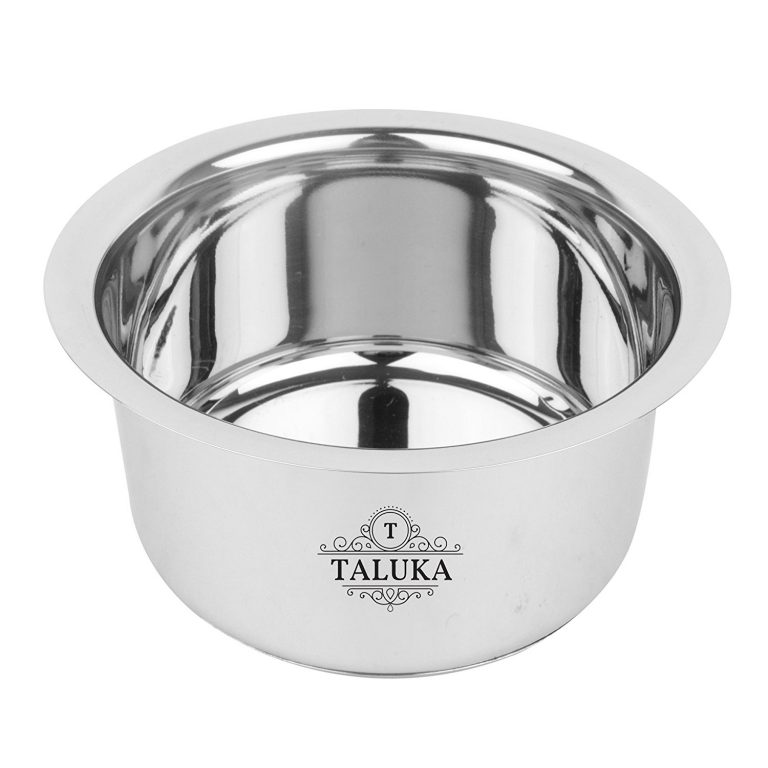"""Amazon India : Taluka ( 8.5"""" x 4.5"""" inches approx ) Stainless Steel Induction at Rs.585"""