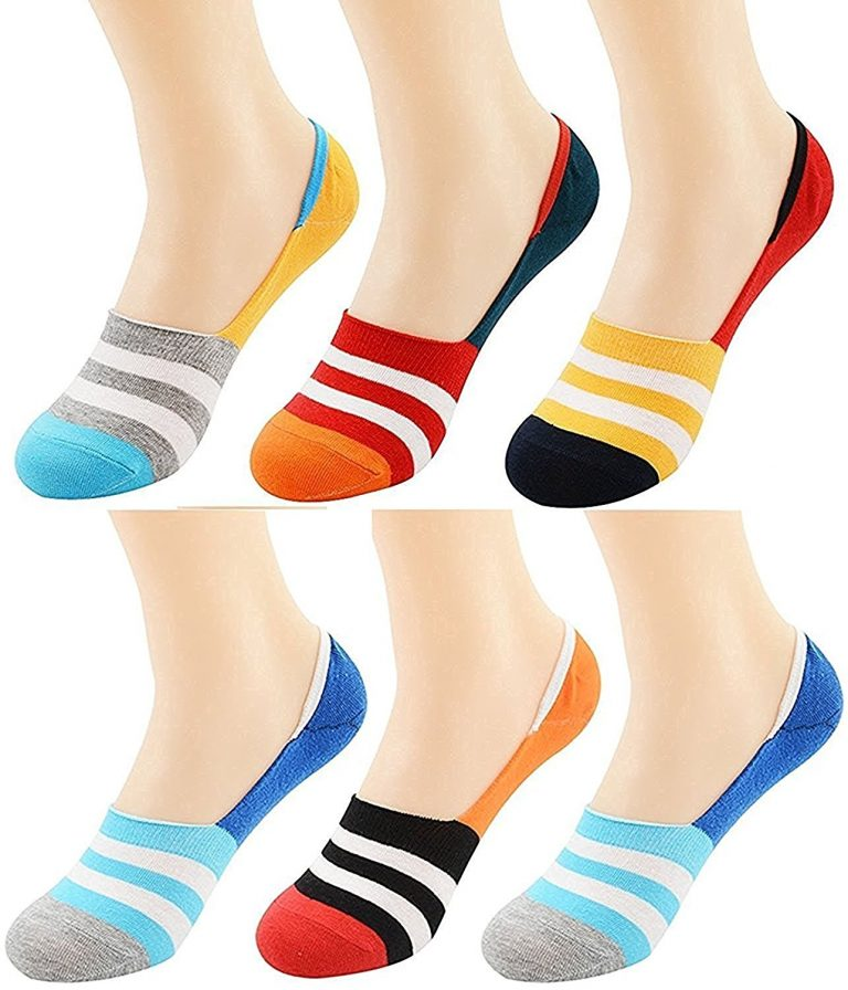 Amazon India : Tex Home Men's Solid Socks Loafer Socks with Silicon Anti skit support (Pack Of 6) at Rs.280