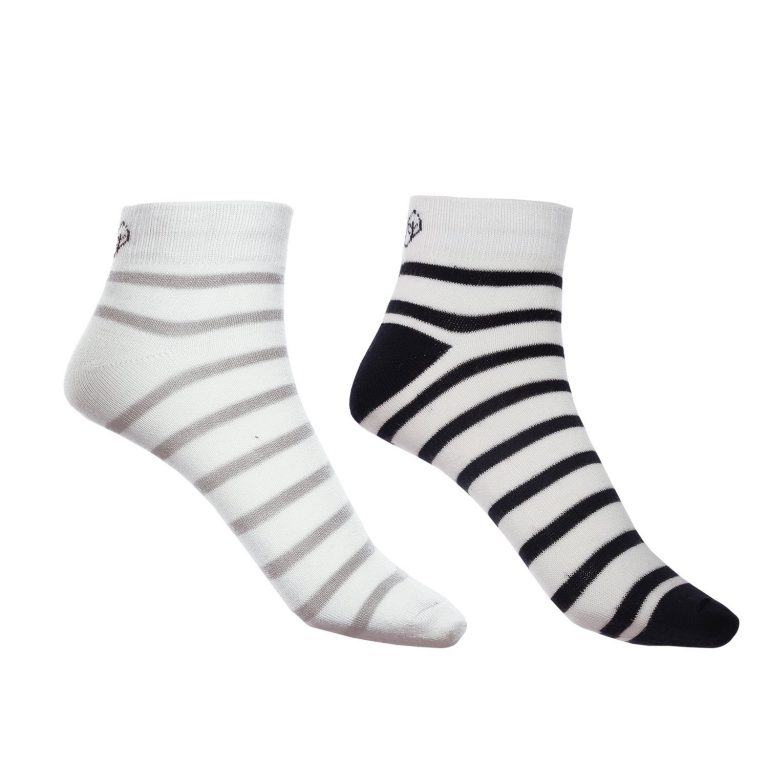 Amazon India : Mush Breathable, Anti Odor and Anti Microbial Bamboo Ankle Socks Available in set of 2 and 4 pairs - Blue and Grey at Rs.349