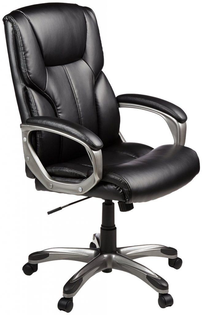 Amazon India : AmazonBasics Full Back Executive Chair (Black) at Rs.6999