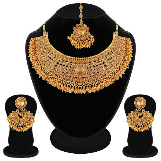 Amazon India : I Jewels Gold Plated Jewellery Set for Women at Rs.299