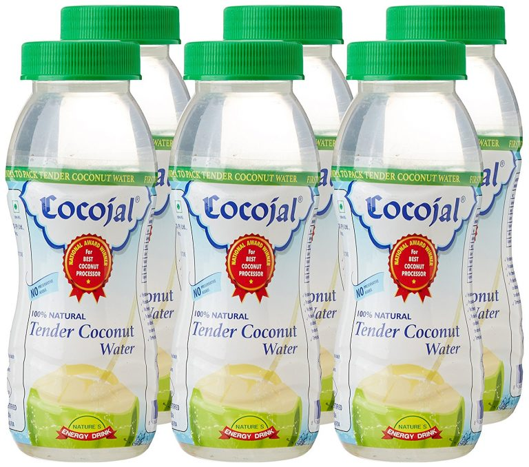 Amazon India : Cocojal Natural Tender Coconut Water, Pack of 6 at Rs.180