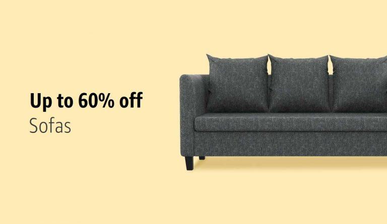Amazon India : Living Room furniture Upto 60% OFF