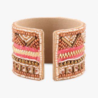 Ajio : Sahaj Adjustable Beaded Bracelet at Rs.399