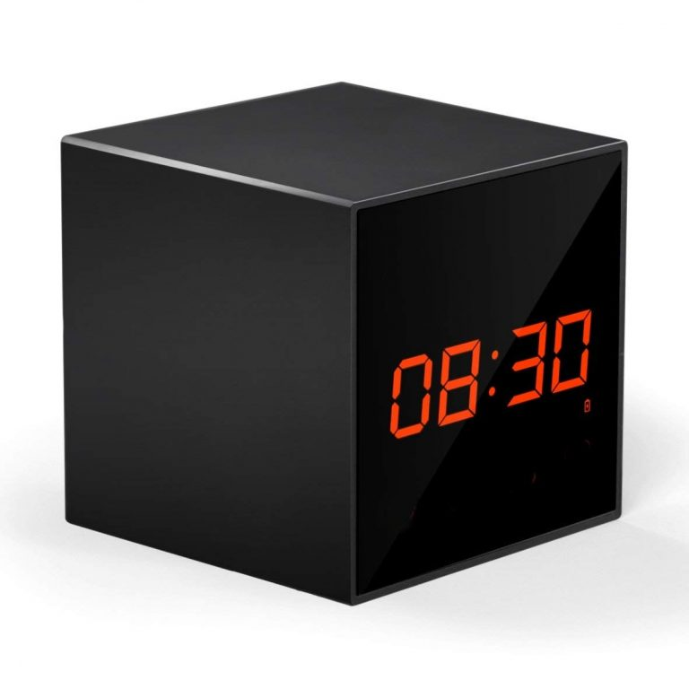 Amazon India : ProElite WL01 Wifi Enabled Clock With Hidden Camera & SD card Slot for All Phones (Black) at Rs.4499