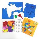 Amazon India : Imagimake Mapology States of India Map Puzzle Educational Toy at Rs.191