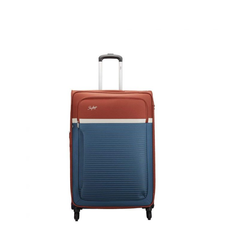 Amazon India : Skybags Glitz Polyester 81 cms Blue Softsided Check-in Luggage at Rs.5304