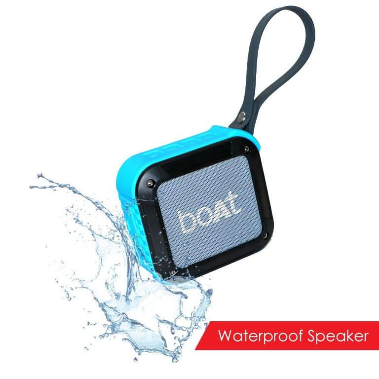 Amazon India : Boat Stone 200 Portable Bluetooth Speakers (Blue) at Rs.1039