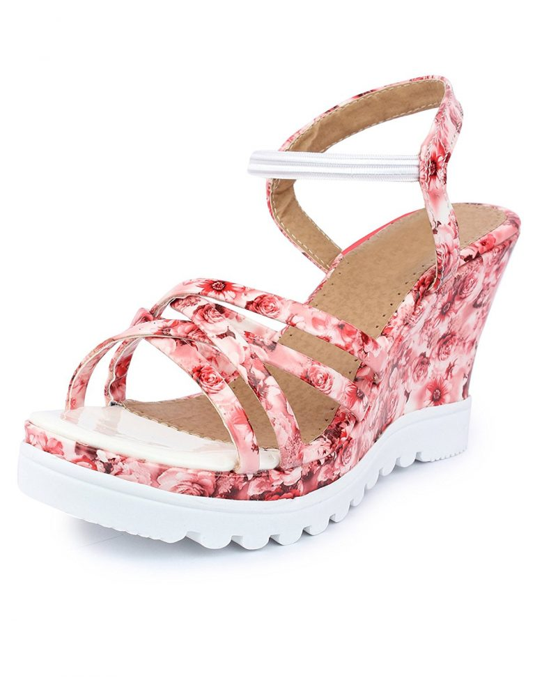 Amazon India : Do Bhai Paris Smart Fashionable Wedges For Women at Rs.495