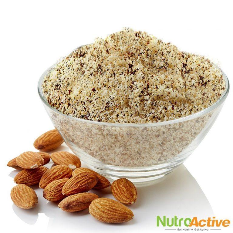 Amazon India : NutroActive Whole Almond Flour with Skin, Badam Powder 200 gm at Rs.299