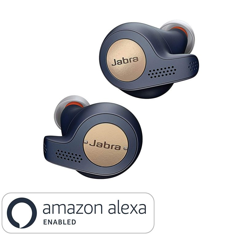 Amazon India : Jabra Elite Active 65t Alexa Enabled True Wireless Sports Earbuds with Charging Case - Copper Blue at Rs.11999