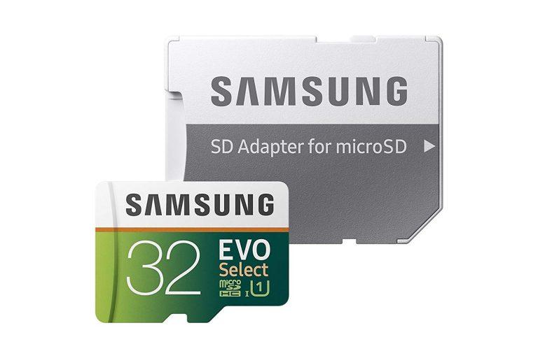 Amazon India : Samsung 32GB 95MB/s Evo Select Micro SDHC Memory Card at Rs.699