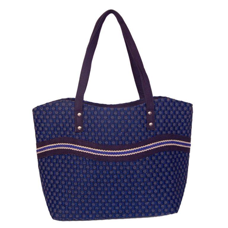 Amazon India : Womaniya Women's Handbag (Blue) (Handicraft Jute Bag) at Rs.270