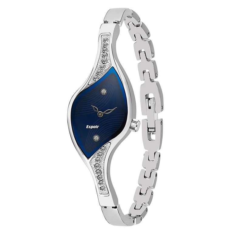 Amazon India : Espoir Analog Blue Dial Women's Watch at Rs.469