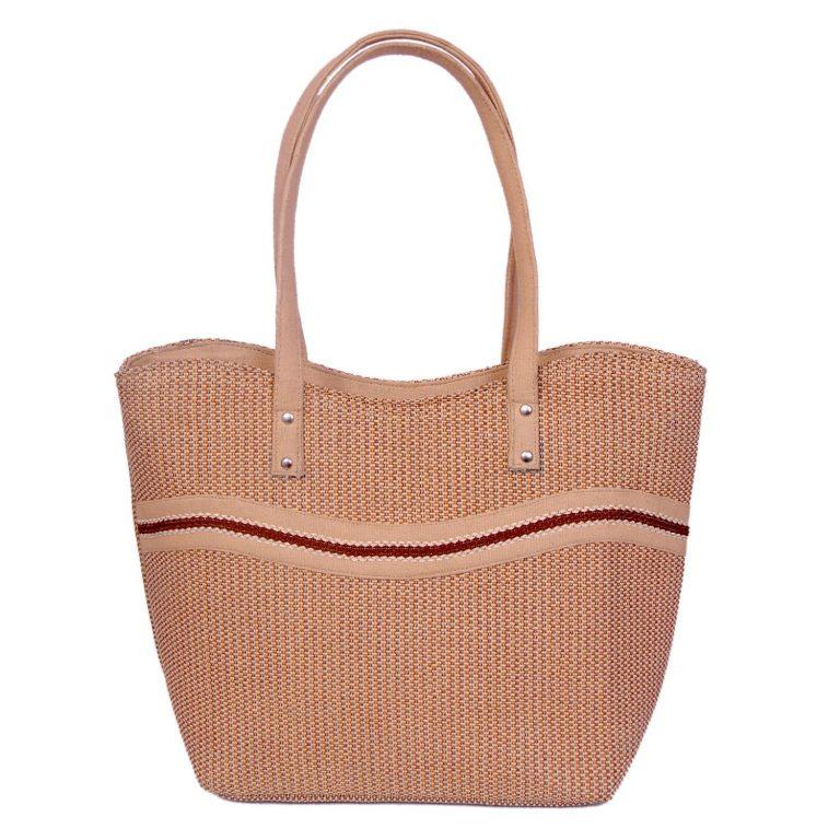 Amazon India : Womaniya Jute And Canvas Women's Handbag - Brown at Rs.275
