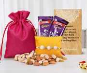 Amazon India : Tied Ribbons Rakhi Gift Combo for Rakshabandhan at Rs.449