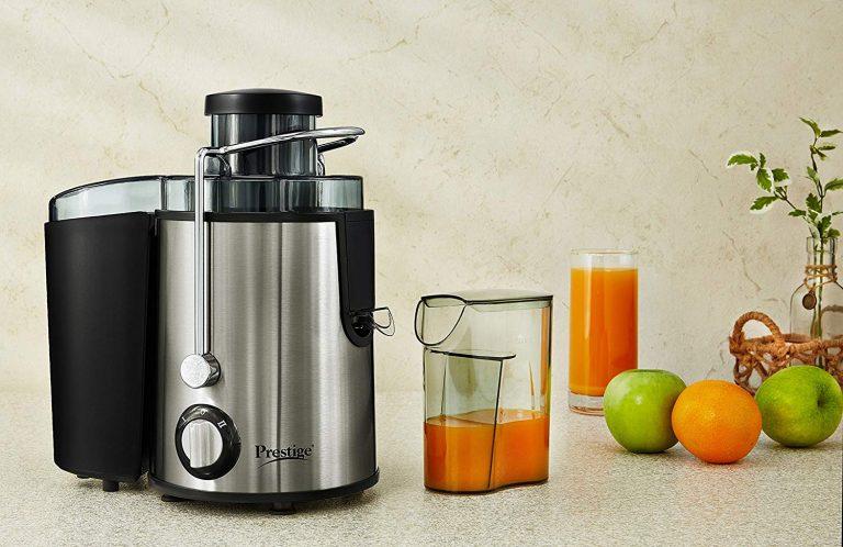 Amazon India : Prestige PCJ 7.0 (500 Watt) Centrifugal Juicer  at Rs.2599