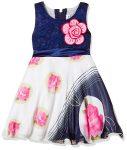 Amazon India : Kuchipoo Baby Girls' Chiffon Knee-Long Dress at Rs.499