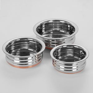 Amazon India : Sumeet Stainless Steel Copper Bottom Pot at Rs.579