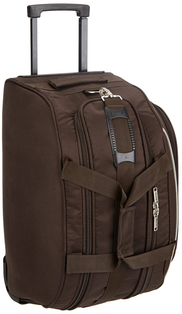 Amazon India : Pronto Turin Polyester 49 cms Coffee Travel Duffle at Rs.1129