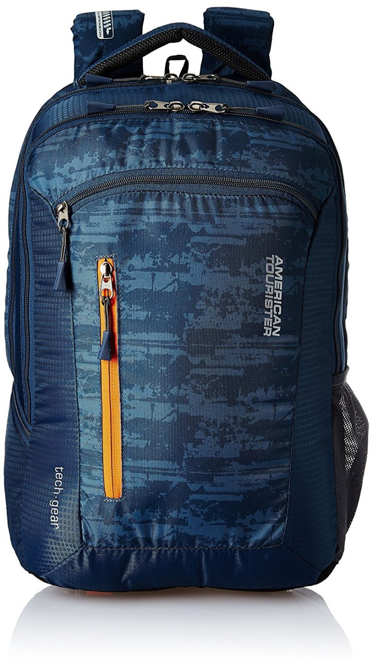 Amazon India : American Tourister Polyester 28 Ltrs Blue Laptop Backpack at Rs.1814