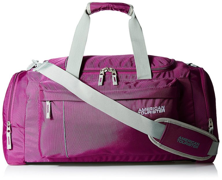 Amazon India : American Tourister Fabric Magenta Gym Bag (X-Bags Casual 2) at Rs.1426