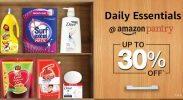 Amazon India : Daily Essentials @Amazon pantry Upto 30% OFF