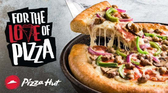 Pizza Hut : Triple Treat Box,Stuffed Crust Pizzas & more Upto 50% OFF