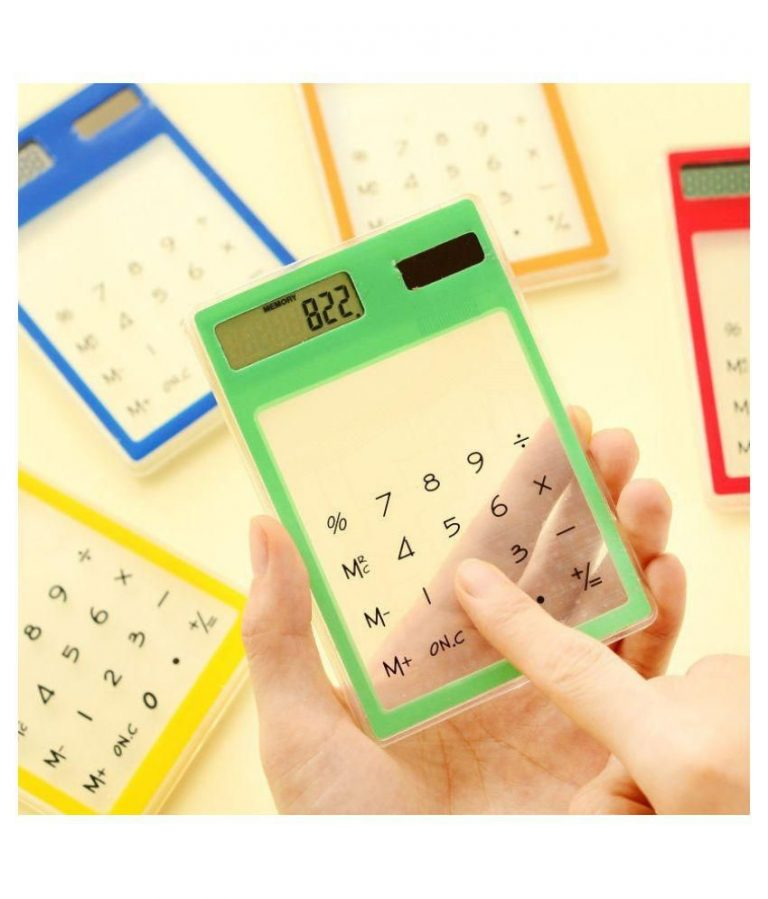 Snapdeal : Touch Screen Electronic Transparent Calculator(Random Color) at Rs.239