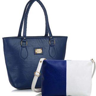 Amazon: Fantosy Women's Handbags (Blue) @Rs.272