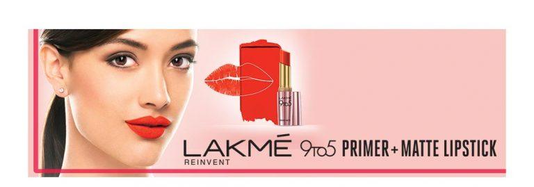 Nykaa : LAKME primer+Matte Lipstick Upto 25% OFF