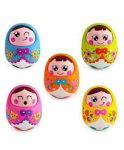 Firstcry : Toyszone Rolly Polly Doll - 1 Piece (Comes in Assorted Colours) at Rs.359.64