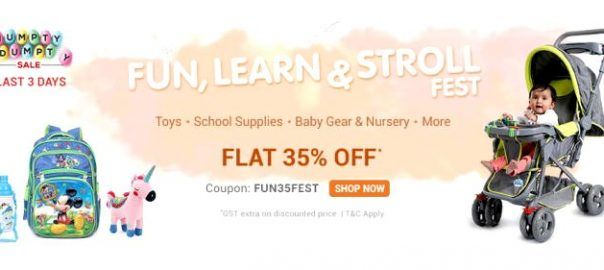 Firstcry Offer : Get 35% off on Baby Gear