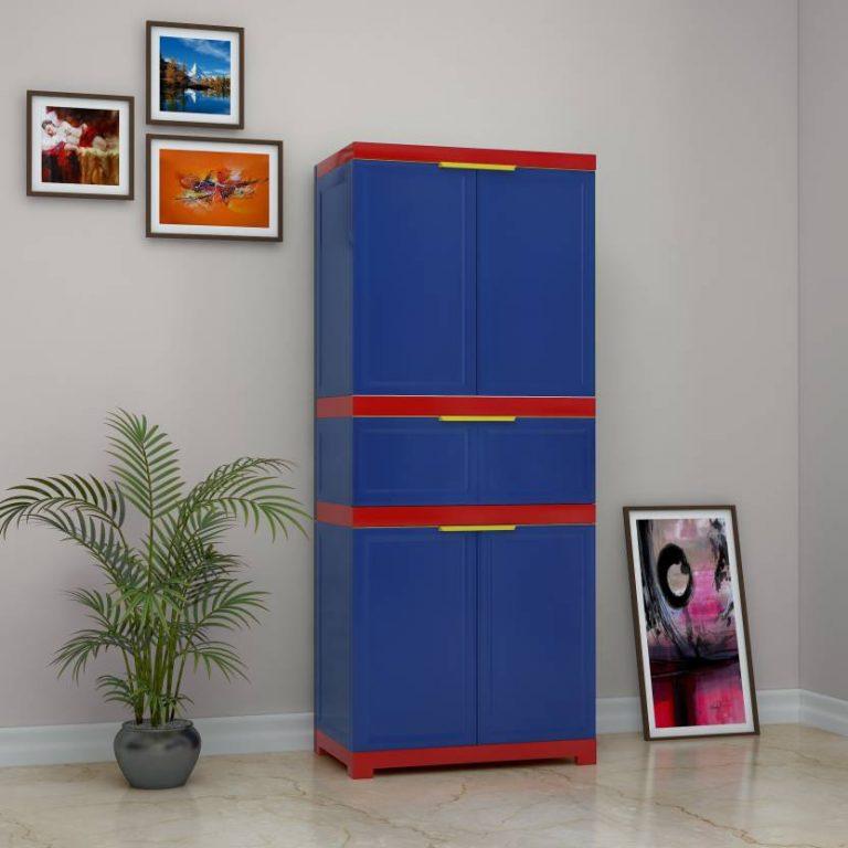 Flipkart : Nilkamal Freedom FMDR 1C Plastic Free Standing Cabinet at Rs.4998