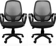 Flipkart : Rajpura Set of 2 802 Cushioned Medium Back Revolving Chair at Rs.6839