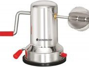 Amazon India : Wonderchef Stainless Steel Coconut Scraper, Silver at Rs.230