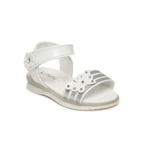 Myntra : Kittens Girls White Comfort Sandals at Rs.524