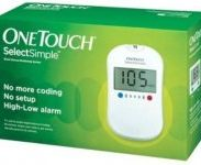 Flipkart : OneTouch Select Simple Glucometer with 25 Tests Strips Glucometer  (White) at Rs.1448