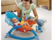 Amazon India : Webby Newborn To Toddler Portable Rocker, Multi Color at Rs.2899