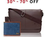 Amazon India : 70% Off on United Colors of Benetton Grey Bags, Wallets